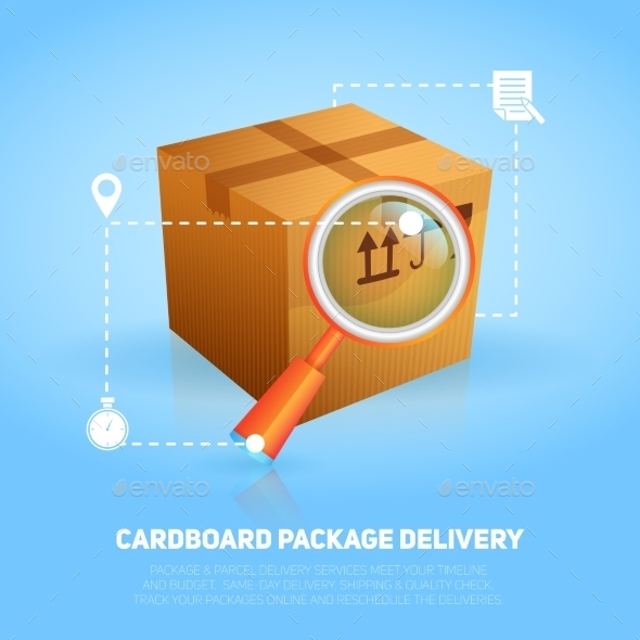 GraphicRiver Logistic Package Poster 10134136