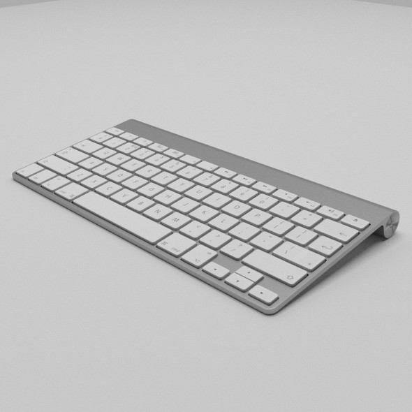 3DOcean Apple Keyboard 10135195
