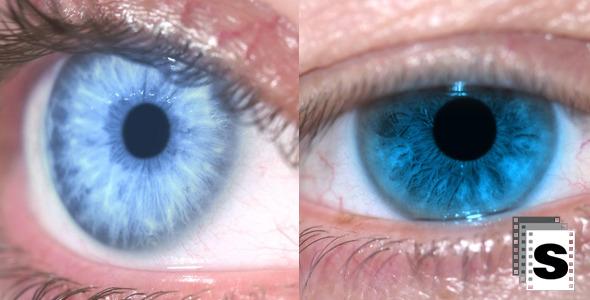 VideoHive Eye Blue 10135279