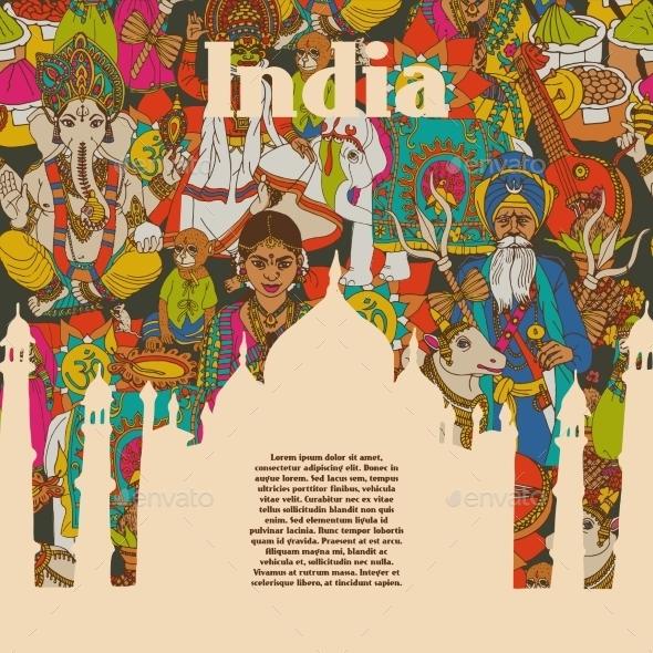 GraphicRiver India Poster 10135332