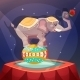 Circus Elephant Poster - GraphicRiver Item for Sale