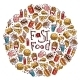 Fast Food Circle - GraphicRiver Item for Sale