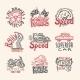 Racing Emblems Set - GraphicRiver Item for Sale