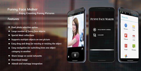 CodeCanyon Funny Face Maker 10135641