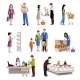People In Supermarket - GraphicRiver Item for Sale