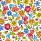 Flowers Pattern Colored - GraphicRiver Item for Sale