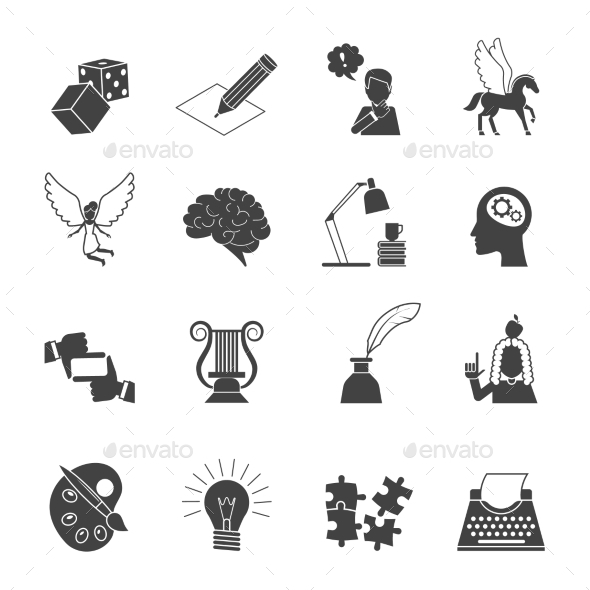 GraphicRiver Muse Icon Set 10135666