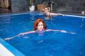 Woman in swimming pool - PhotoDune Item for Sale