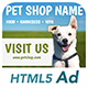 Ad HTML5 Template | Pet Shop