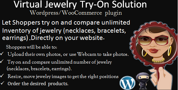Virtual Jewelry Try-On Wordpress-Woo plugin