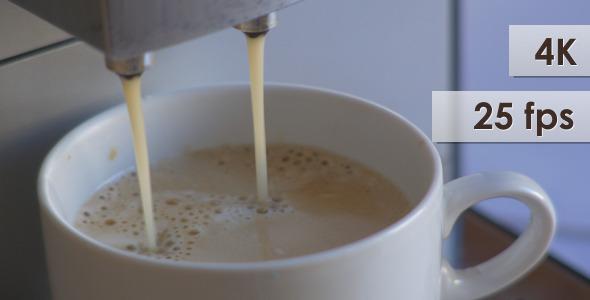 VideoHive Coffee Machine At Work 10135734