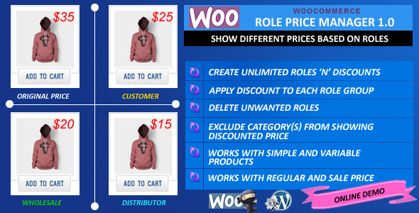 CodeCanyon WooCommerce Role Price Manager 10135760