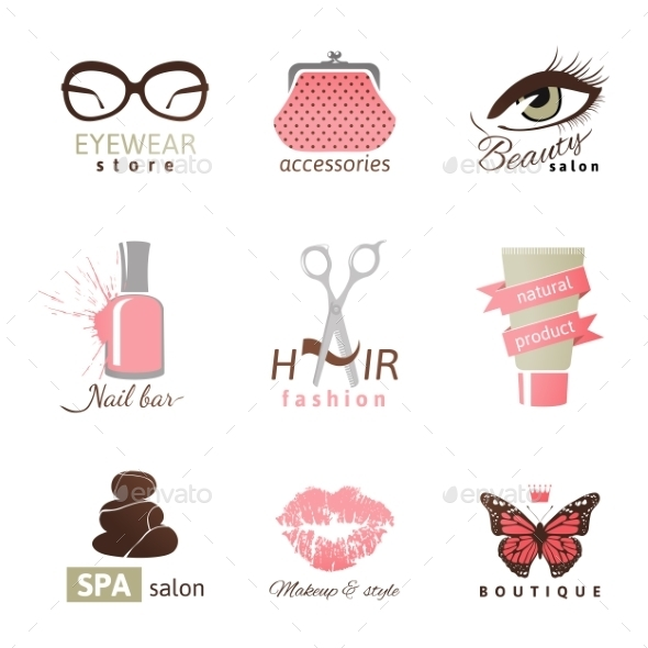 GraphicRiver Beauty and Fashion Logo Templates 10136018