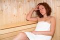 Woman in sauna - PhotoDune Item for Sale