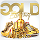 Gold Bling Bling Flyer Template - GraphicRiver Item for Sale