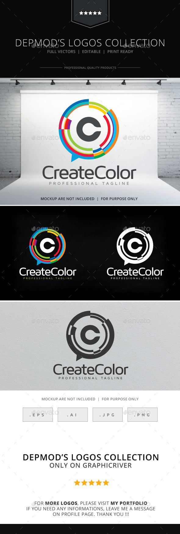 GraphicRiver Create Color Logo 10136997