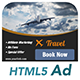 Ad HTML5 Template | Traveling