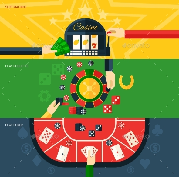 GraphicRiver Casino Banner Set 10138000