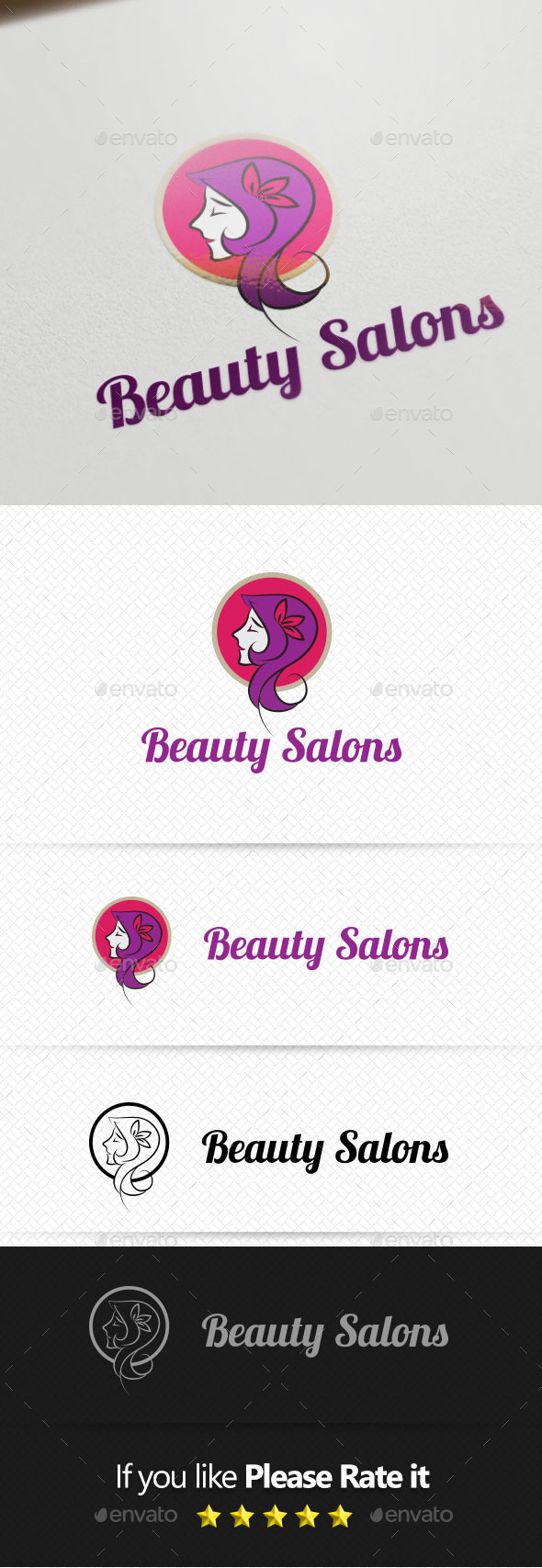 GraphicRiver Beauty Salons Logo Template 10138157