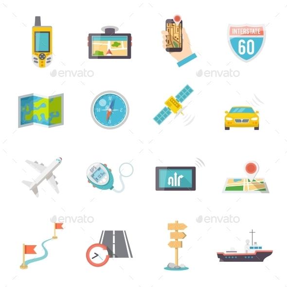 GraphicRiver Navigation Icons 10138269