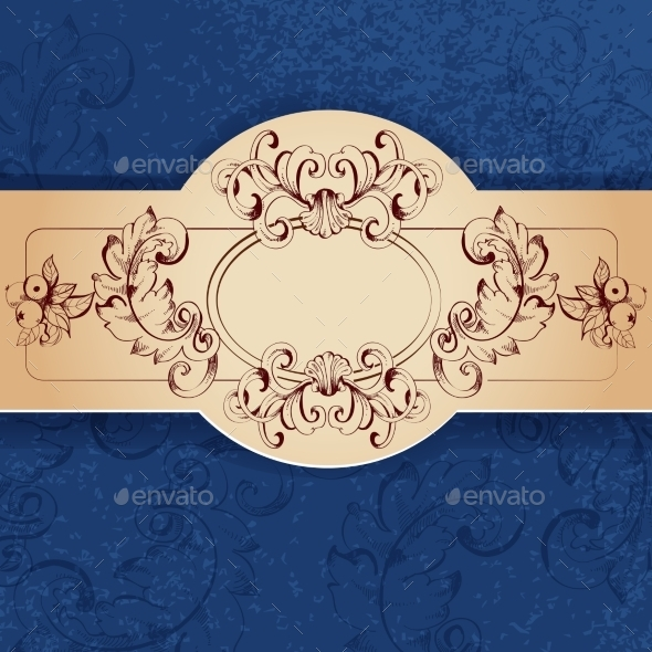 GraphicRiver Vintage Sketch Background 10138415