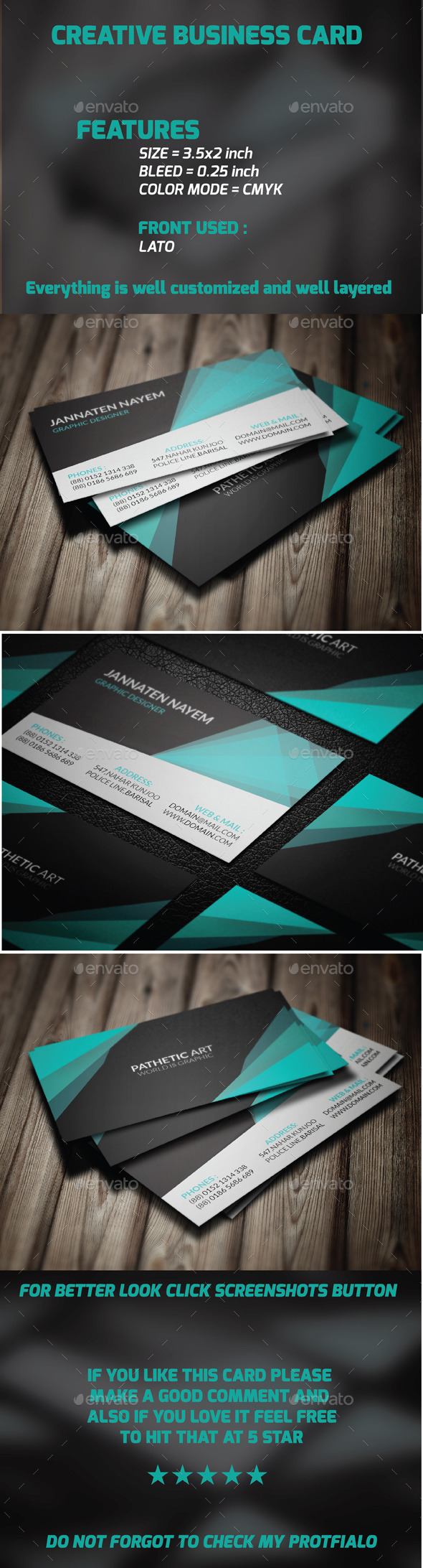 GraphicRiver Creative Business Card 10138625
