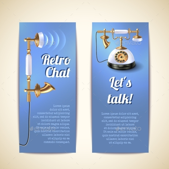 GraphicRiver Telephone Vertical Banners 10138699