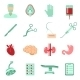 Surgery Icons Set - GraphicRiver Item for Sale