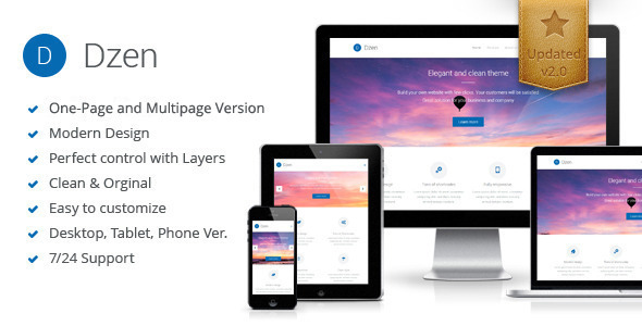 Dzen - Multipurpose Muse Template