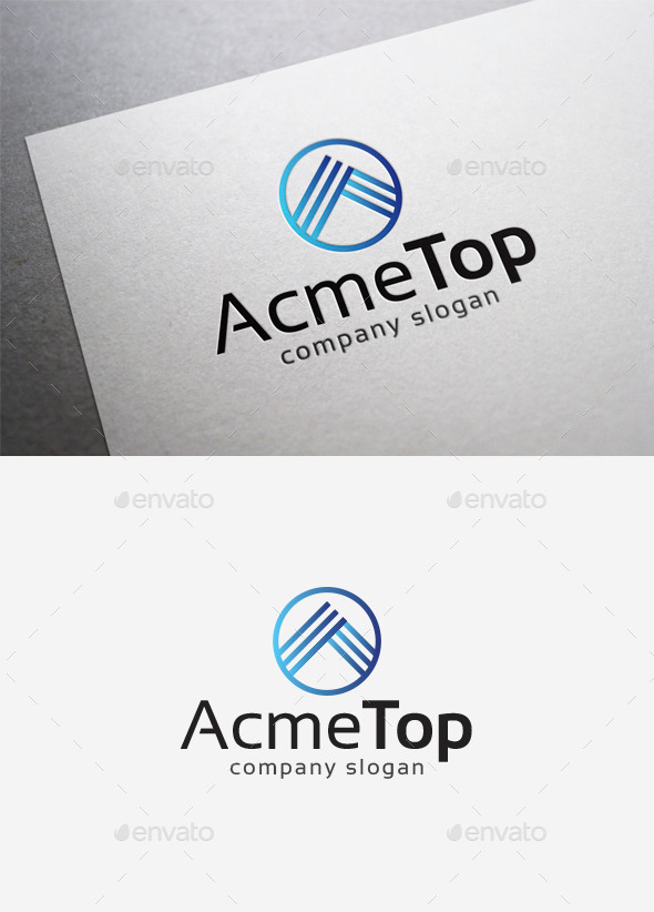GraphicRiver Acme Top Logo 10139562