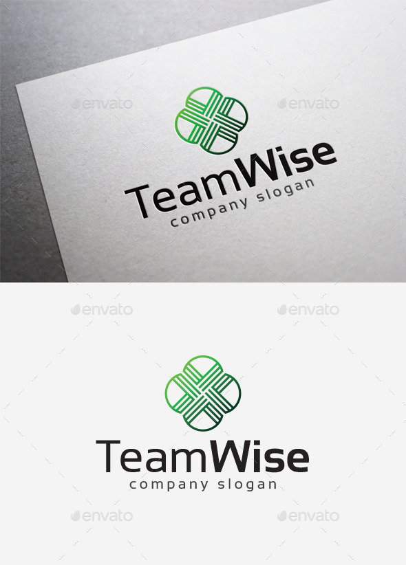 GraphicRiver Team Wise Logo 10139924