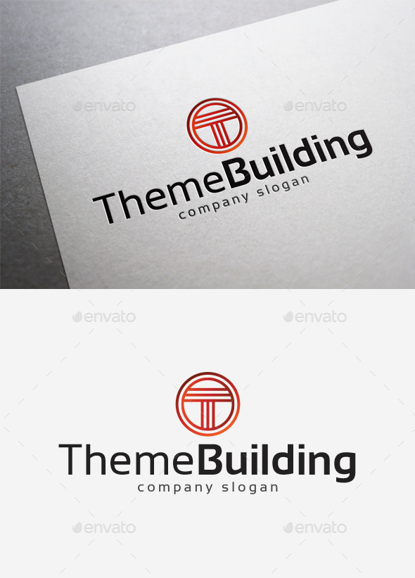 GraphicRiver Theme Building Logo 10140032