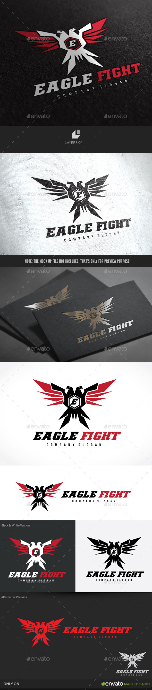 GraphicRiver Eagle Fight 10140046