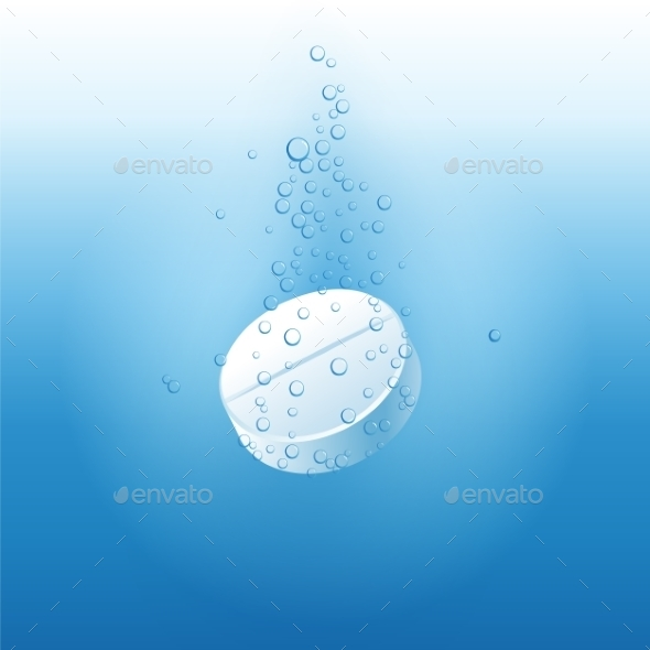GraphicRiver Effervescent Tablet 10140063