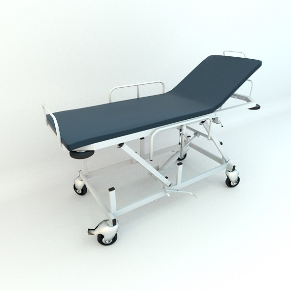 Hospital Gurney - 3DOcean Item for Sale