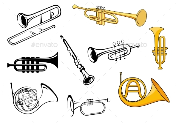 GraphicRiver Wind Instruments 10140206