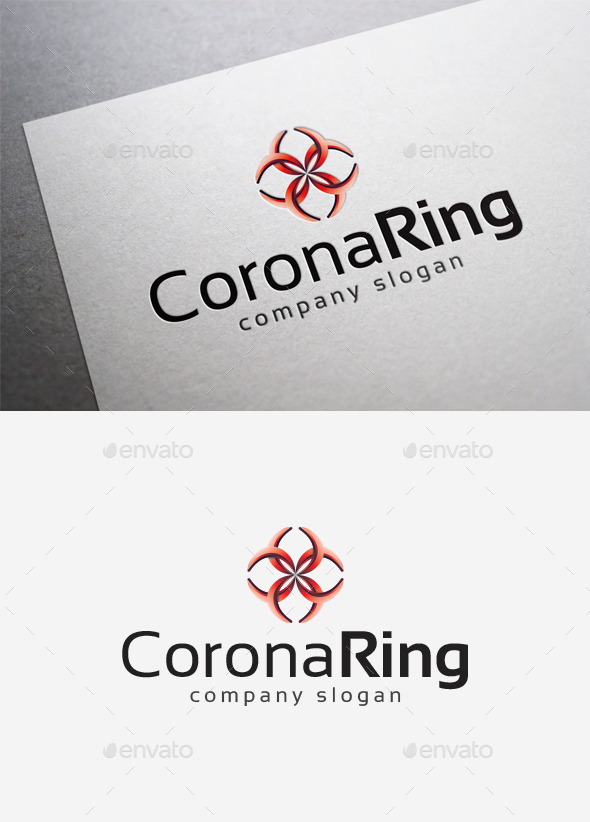 GraphicRiver Corona Ring Logo 10140232