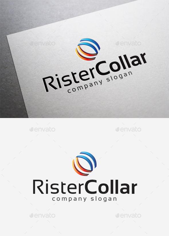 GraphicRiver Rister Collar Logo 10140325