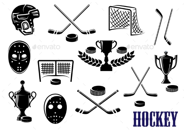 Ice Hockey Icons