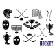 Ice Hockey Icons - GraphicRiver Item for Sale