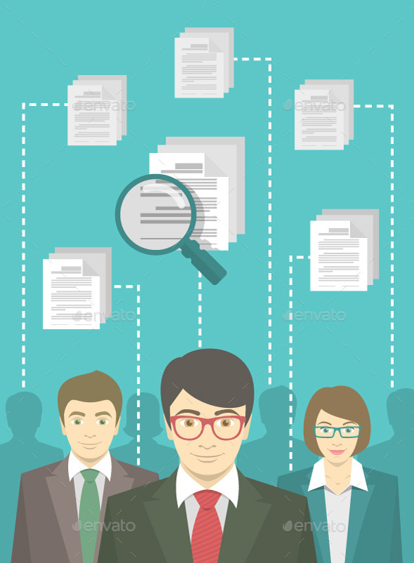 GraphicRiver Human Resources Management 10140345