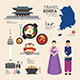 Infographic Korea Travel Design - GraphicRiver Item for Sale
