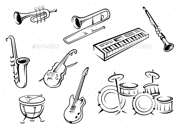 Outlined Instruments