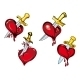 Cartoon Hearts with Dagger - GraphicRiver Item for Sale