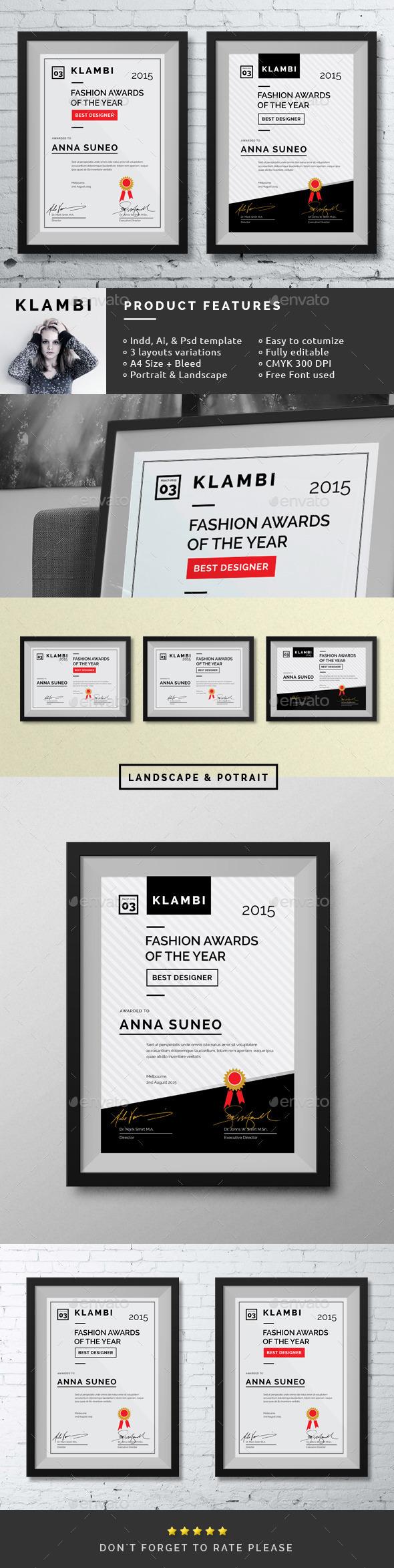 Fashion Certificate