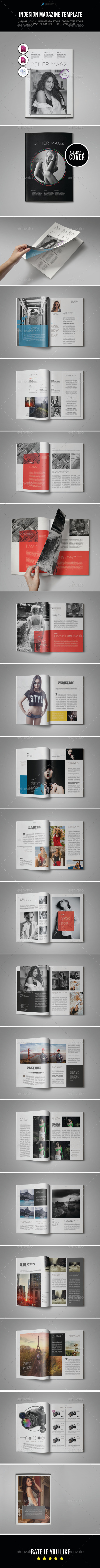 GraphicRiver Indesign Magazine Template 10094053
