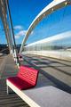 View of tramway crossing a bridge - PhotoDune Item for Sale