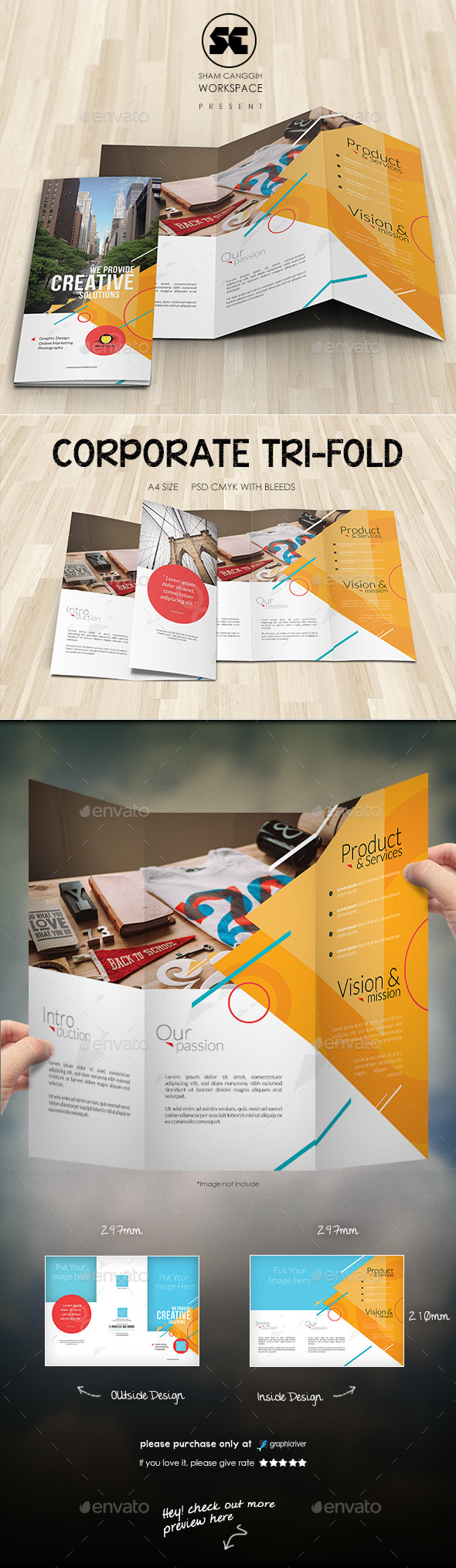 GraphicRiver Creative Corporate Tri-Fold 10140606