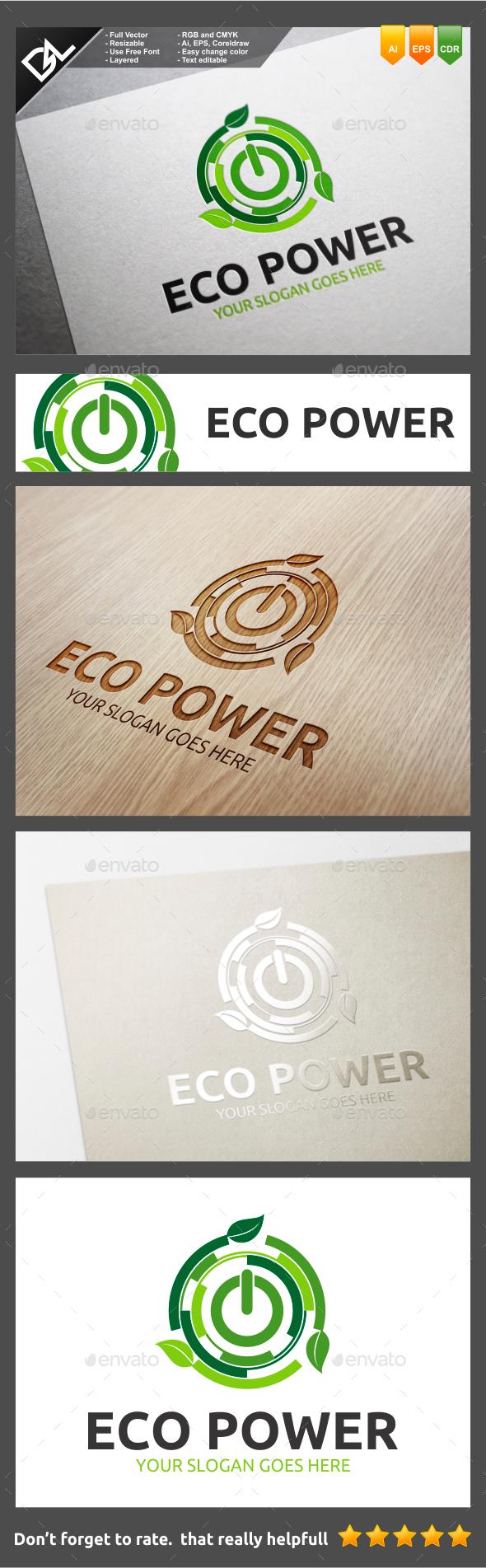 GraphicRiver Eco Power 10140633