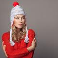 Beautiful Woman Wearing Winter Clothing. - PhotoDune Item for Sale
